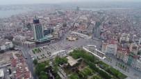 TARLABAŞı - Taksim Meydanı Havadan Görüntülendi
