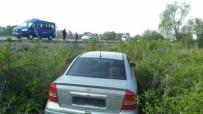 KURUÇAY - Tavşanlı'da Trafik Kazası Açıklaması 1 Yaralı