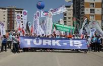 KAMU ÇALIŞANLARI - Türk-İş 1 Mayıs'ı Hatay'da Kutladı