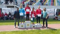 ÇAĞATAY HALIM - Yıldız Atletlerin Yarı Final Sevinci