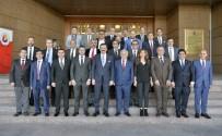 YÜRÜYEN KÖŞK - YTYSO Yönetimi Hisarcıklıoğlu'nu Ziyaret Etti
