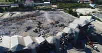 Abdi İpekçi Spor Salonu'nun Yüzde 90'I Yıkıldı