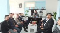 KAPADOKYA - AK Parti Heyeti Kapadokya Gazeteciler Cemiyetini Ziyaret Etti