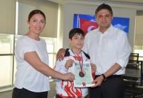 SERKAN ACAR - Aliağa'nın Gururu Doğan Egecan Tercan, Balkan 3'Üncüsü Oldu
