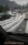 KAR YAĞıŞı - Antalya-Konya Karayolunda Mayıs Ayında Ulaşıma Kar Engeli