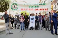 ALİ FUAT TÜRKEL - Bafra'da Engelliler İçin Farkındalık Yürüyüşü