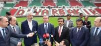 GALIP ENSARIOĞLU - Bakan Bak, Diyarbakır Stadyumu'nda İncelemelerde Bulundu