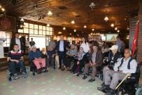 ABDULLAH KıLıÇ - Başkan Özakcan 'Engelliler Haftası'nda Engellilerin Yüzünü Güldürdü