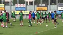 MOUSSA SOW - Bursaspor'da Trabzonspor Maçı Hazırlıkları