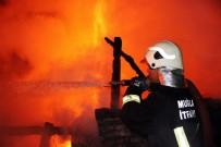 BUZDOLABı - Çıkan Yangından Yayla Evi Küle Döndü