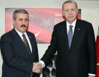 BÜYÜK BIRLIK PARTISI - Cumhurbaşkanı Erdoğan'dan Büyük Birlik Partisi'ne Ziyaret