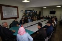 BÜTÇE KOMİSYONU - Erzincan Belediye Meclisi Öğrencileri Ağırladı