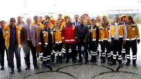 ARAÇ KULLANMAK - Erzurum'da Sağlık Personellerine Yönelik 'Ambulans Sürüş Teknikleri Eğitici Eğitimi' Verildi