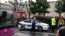 TRAFİK YOĞUNLUĞU - Fatih'te Zincirleme Trafik Kazası Açıklaması 2 Yaralı