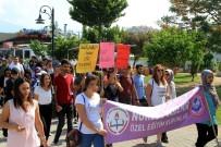 FETHIYE BELEDIYESI - Fethiyeli Engellilerden Anlamlı Yürüyüş