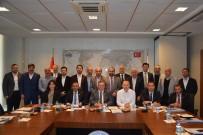 BAŞPıNAR - Halı Sektör Kurulu Başkanlığına Salahattin Kaplan Seçildi
