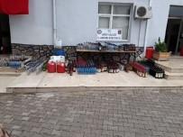 İÇKİ ŞİŞESİ - Hatay'da 930 Bin Litre Sahte Ve Kaçak İçki Ele Geçirildi