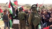 PLASTİK MERMİ - İsrail Askerlerinden Batı Şeria'daki Gösteriye Müdahale