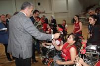 TEKERLEKLİ SANDALYE BASKETBOL - Kadın Milli Sporcuların Yalova Kampı Sona Erdi