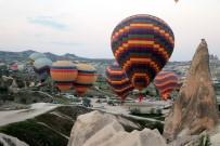 KAPADOKYA - Kapadokya'da balon turları yine iptal edildi
