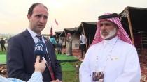 KATAR EMIRI - Katar'ın Simgesi 'Şahinler' Etnospor Kültür Festivali'nde