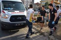 Milas'ta TIR İle Otomobil Çarpıştı; 1 Yaralı