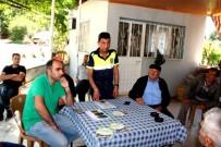 MUSTAFA TAŞ - Sarıgöl'de Çiftçilere Trafik Ve Tarım Ekipmanı Kullanımı Eğitimi