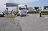 TRAFİK KANUNU - Tonajı Aşan Sürücülere 59 Bin Lira Ceza