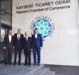 KAYSERI TICARET ODASı - Vali Kamçı, Başkan Gülsoy'u Ziyaret Etti