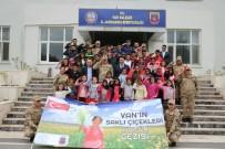 MEHMET ÖZCAN - Van'ın 'Saklı Çiçekleri' Jandarmada Ağırlandı