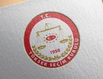 DENETİMLİ SERBESTLİK - YSK'dan 'yurt dışında seçim' genelgesi