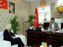 KAYHAN TÜRKMENOĞLU - ABD Adana Konsolosundan Başkan Türkmenoğlu'na Ziyaret