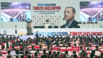 ANKARA SPOR SALONU - AK Parti Genel Merkez Gençlik Kolları 5. Olağan Kongresi