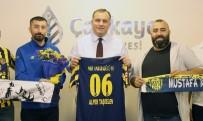 TAŞDELEN - Ankaragücü Taraftarından Başkan Taşdelen'e Teşekkür Ziyareti