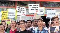 Artvin'de ABD Ve İsrail Protestoları