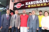 FATMA GÜLDEMET - Bakan Eroğlu Esnafa Orman Çayı Dağıttı