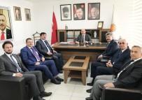 AHMET DEMİR - Başkan Ali Çetinbaş, Akçadurak'a Yeni Görevinde Başarılar Diledi