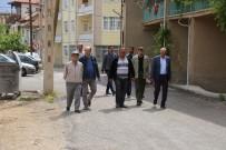 Başkan Çalışkan, Abbas Mahallesinde İncelemelerde Bulundu