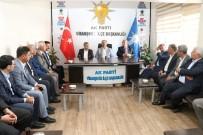 PARTİ YÖNETİMİ - Başkan Çiftçi Viranşehir'deki Seçim Çalışmalarını Değerlendirdi