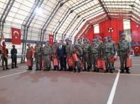 TUGAY KOMUTANI - Bingöl'de Engelliler Temsili Askerlik Yaptı