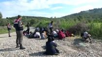 Çanakkale'de 26 Yabancı Uyruklu Yakalandı