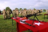 AK PARTİ İL BAŞKANI - Engelli Bireyler Bir Günlük Askerlik Heyecanı Yaşadı