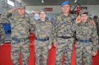 ENGELLİ GENÇ - Engelli Gençlerin 1 Günlük Askerlik Sevinci