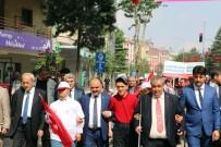 ŞEHMUS GÜNAYDıN - Engelliler Haftası Isparta'da Yürüyüşle Başladı