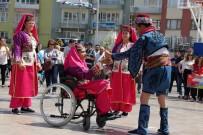 PAMUKÖREN - Engelliler Hünerlerini Sergiledi