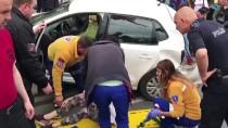 KADIN SÜRÜCÜ - Fatih'te Trafik Kazası Açıklaması 1 Yaralı
