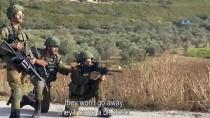 KAHKAHA - Filistinli Genci Vuran Askerlerden Kahkahalı Kutlama