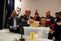 TÜRKIYE GAZETECILER FEDERASYONU - Gazeteciler Cemiyeti'nin Yeni Başkanı Veli Altınkaya Oldu