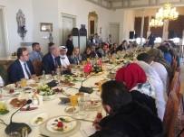 MEVLÜT UYSAL - İBB Başkanı Mevlüt Uysal, 18 Arap Ülkesinden Gelen Gazetecileri Ağırladı