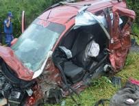 SOĞUCAK - Korkunç kaza: Bir aile yok oldu!